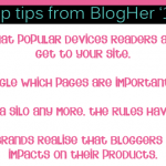 Google will rank your blog lower if it's not mobile friendly – the BlogHer '12 wrap