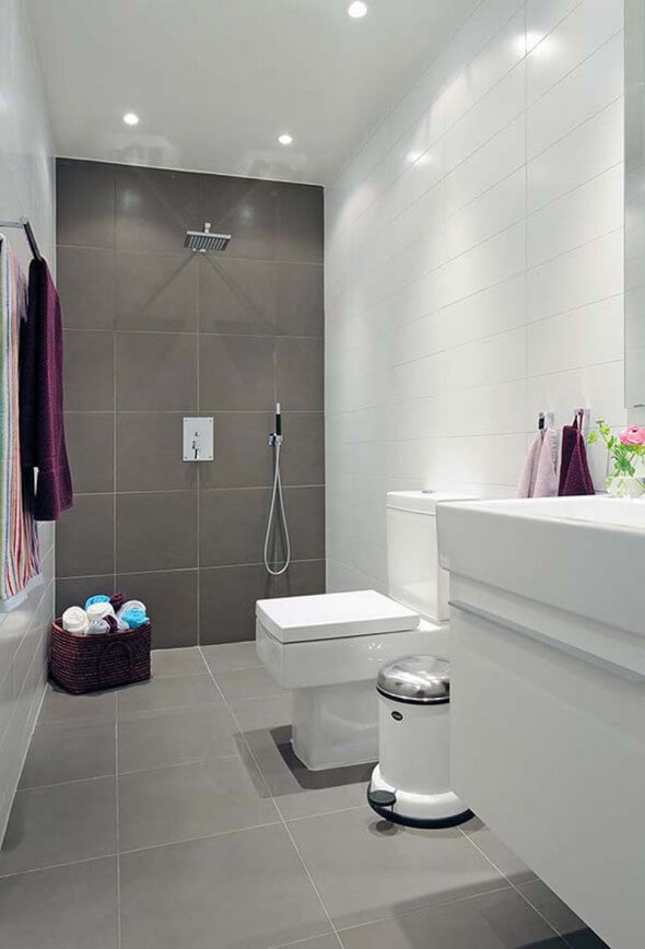 Wonderful Today We Are Reflecting Upon Grey Bathroom Ideas, An Association Meant To Replace And Offer  When You Say Bathroom You Instantly Think About Tiles If The Walls Have Been Left White, Direct Yourself Towards A White And Gray