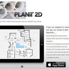 A new App: Planit2D – have your iPad or iPhone producing house plans like a pro!