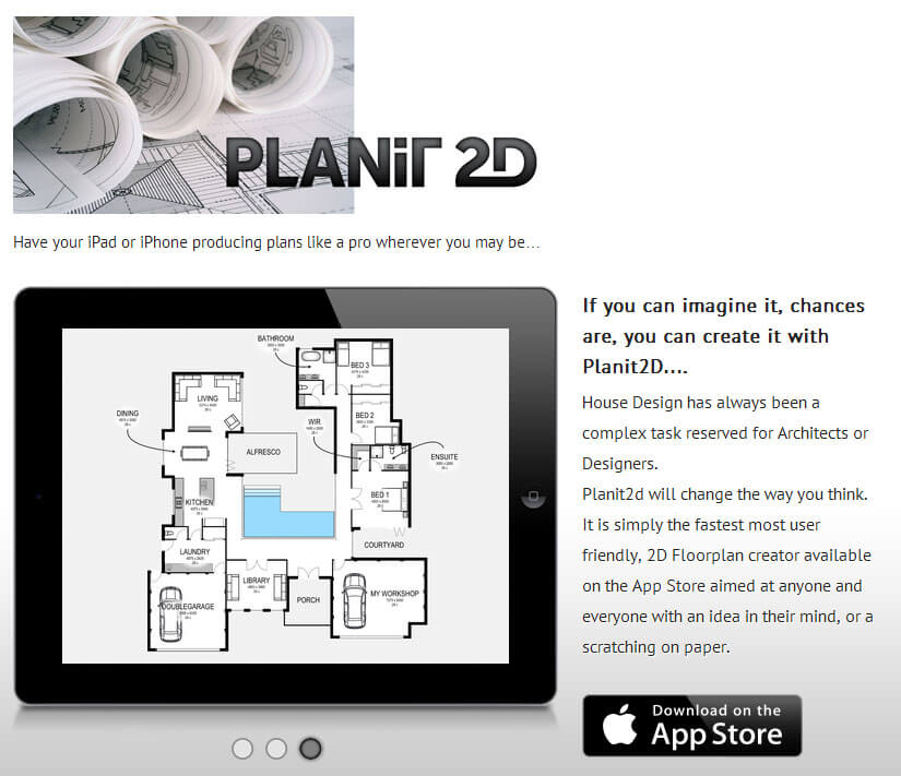 A New App Planit2d Have Your Ipad Or Iphone Producing