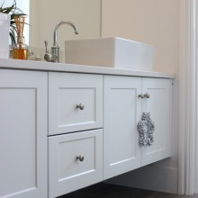 My bathroom vanity & the regret