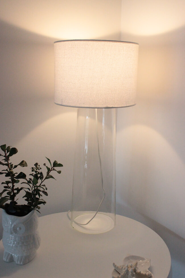 Diy glass vase lamp shade glass vase lamp mozeypictures Choice Image
