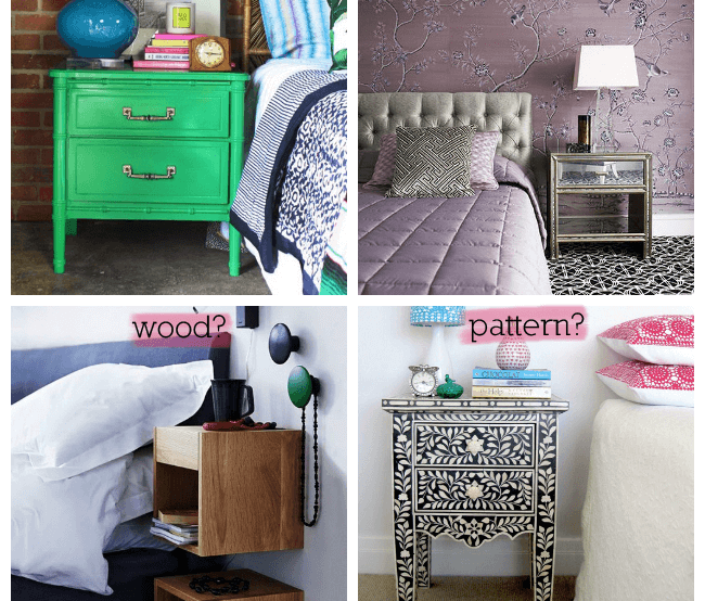 Bedside Table What S Your Style