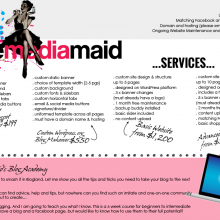 Update on The Media Maid's Services
