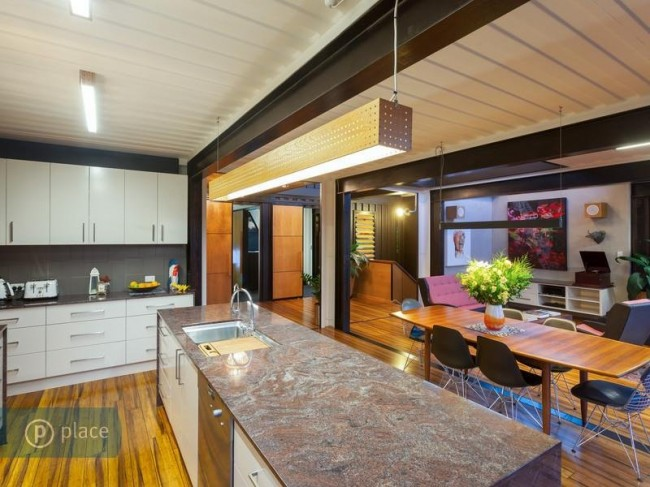 Stunning sunday the shipping container house - Graceville container house study case brisbane australia ...