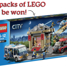 Have boys? Win LEGO!