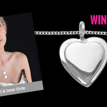 WIN an UBERfine heart necklace for Valentine's Day