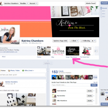 How to add Facebook tabs under your cover photo