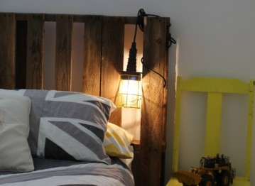 Add a cage light to the bedroom: 7 styles