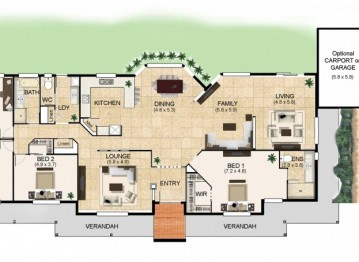 Floor Plan Friday: A home for acreage