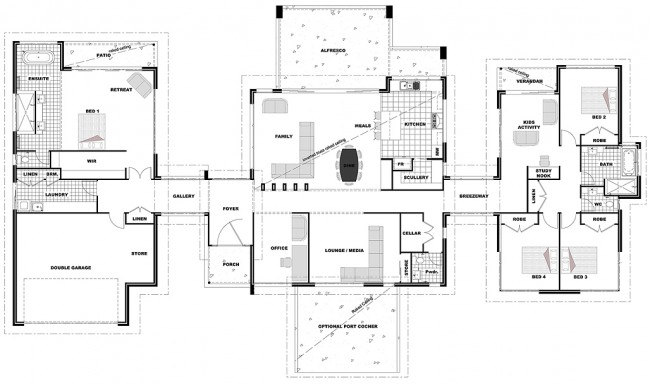 Chief Architect Premier X3: Rochedale 398 (Lifestyle).layout