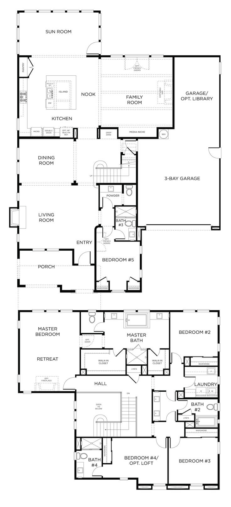 Floor plan friday double storey home for Double storey bungalow floor plan