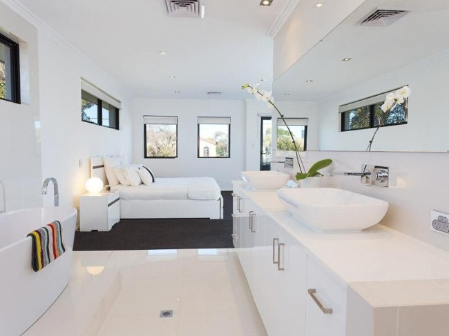 Spectacular This week I went searching for a home for sale in Perth and this is the beauty I found It us a modern bedroom bathroom home for sale in Leederville