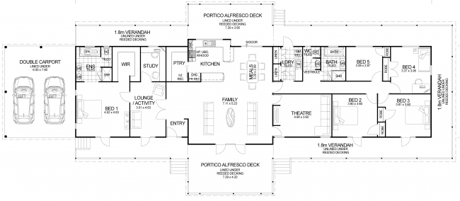 Floor plan friday the queenslander Colonial style homes floor plans
