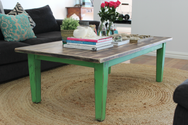 Coffee Table Makeover With Chalk Paint Decorative Paint