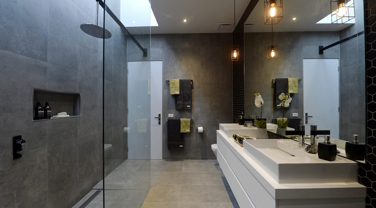Rock Your Reno With These 11 Bathroom Mirror Ideas: The Block Glasshouse 2014