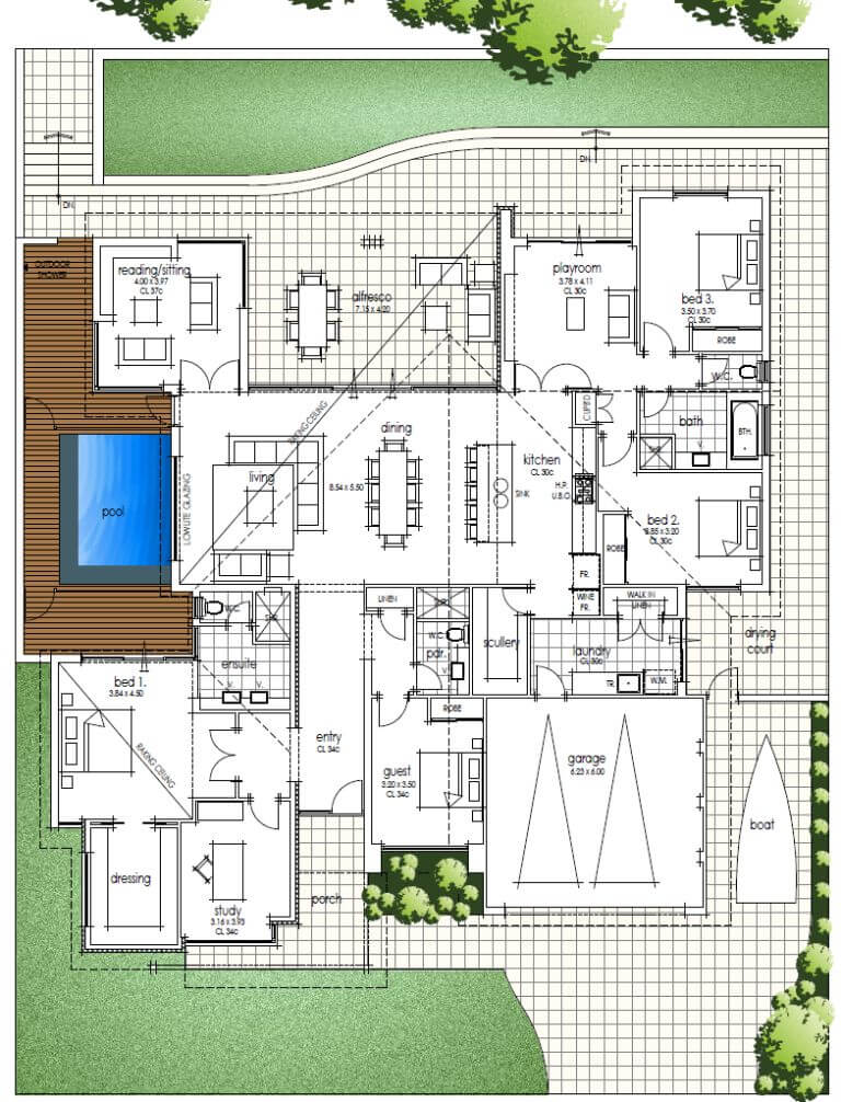 Floor Plan Friday Family Home Katrina Chambers