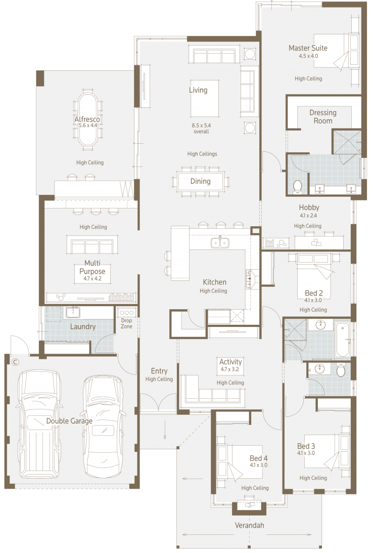 Floor Plan Friday Modern Twist On A Family Home
