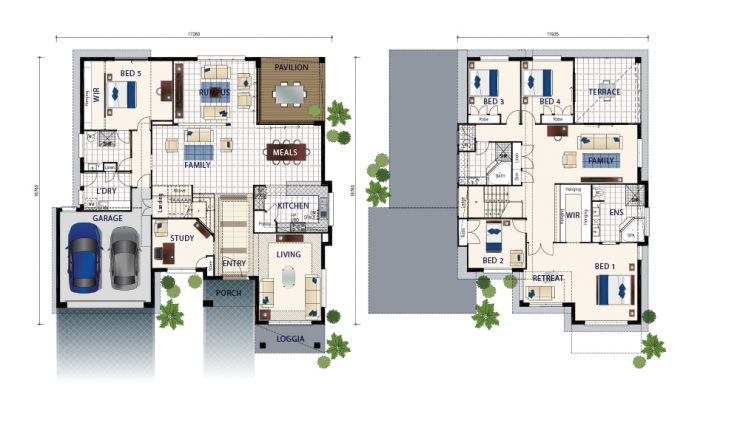 Floor plan friday two storey flexible living on a grand scale