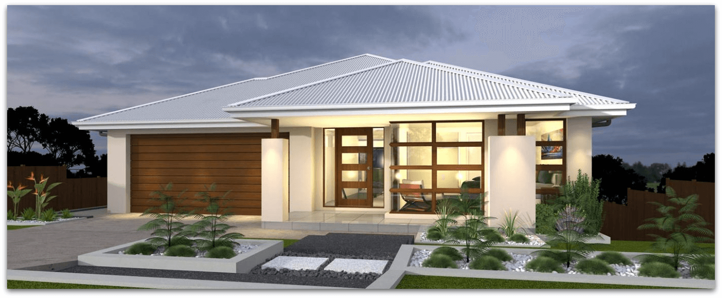 Floor plan friday split level home for Split level home designs sydney