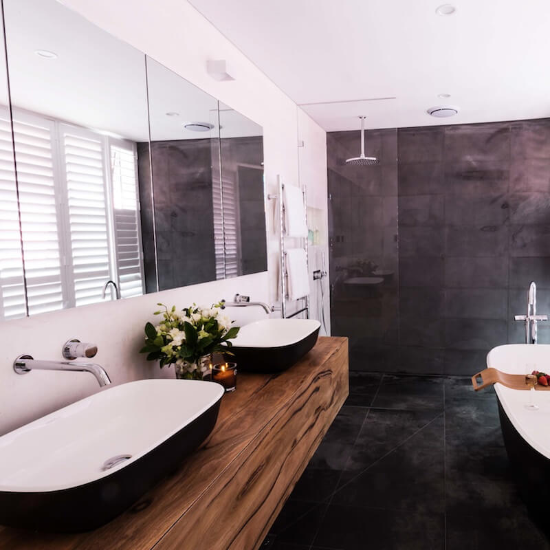 The block archives katrina chambers lifestyle blogger for Bathroom designs the block