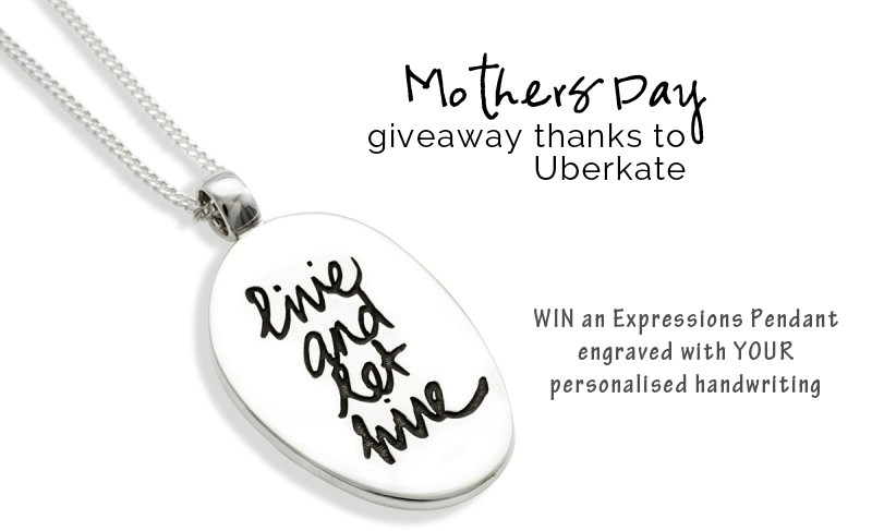 How much do you love your Mum? An Uberkate giveaway!
