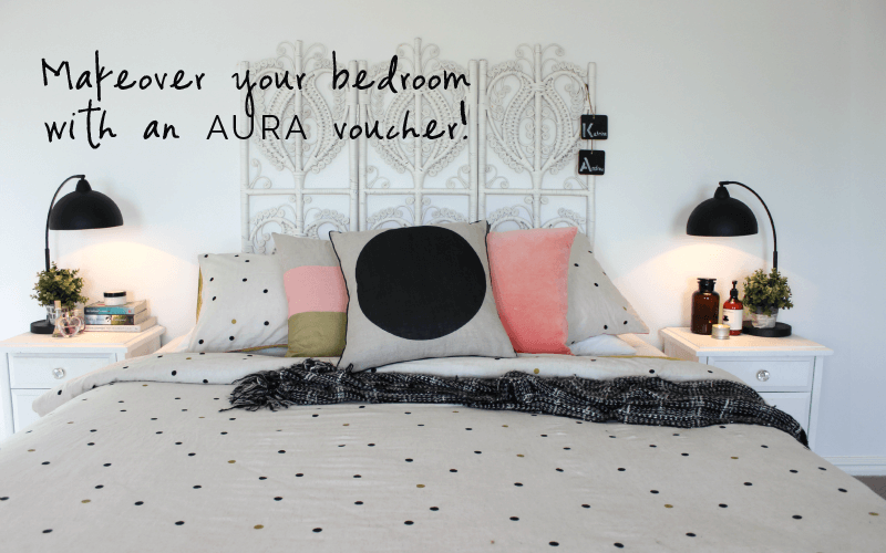 WIN: Makeover your bedroom for Winter with an AURA voucher!
