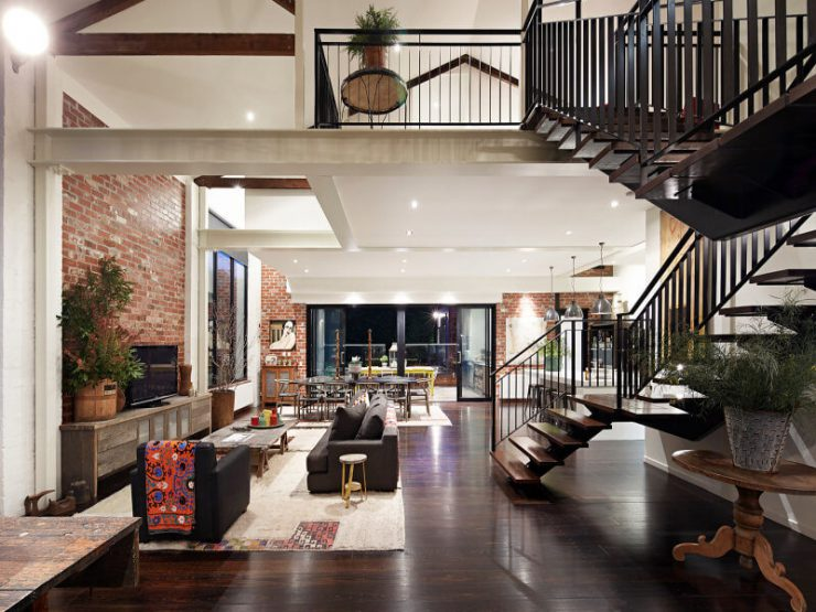 Warehouse conversion for sale in hawthorn melbourne - Warehouse turned into home ...