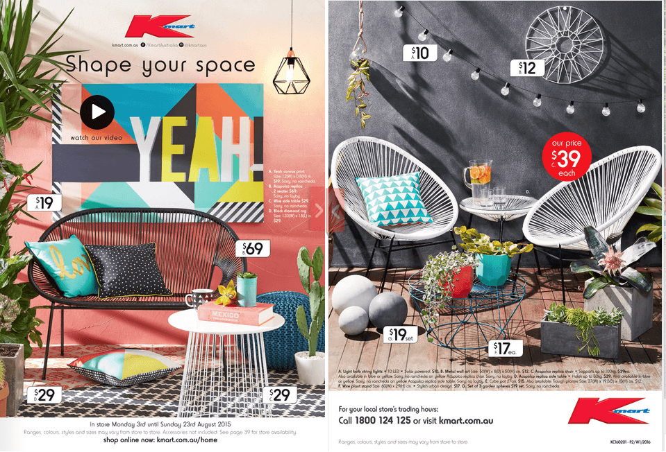 0c3fc7883 NEW Kmart Catalogue out today!