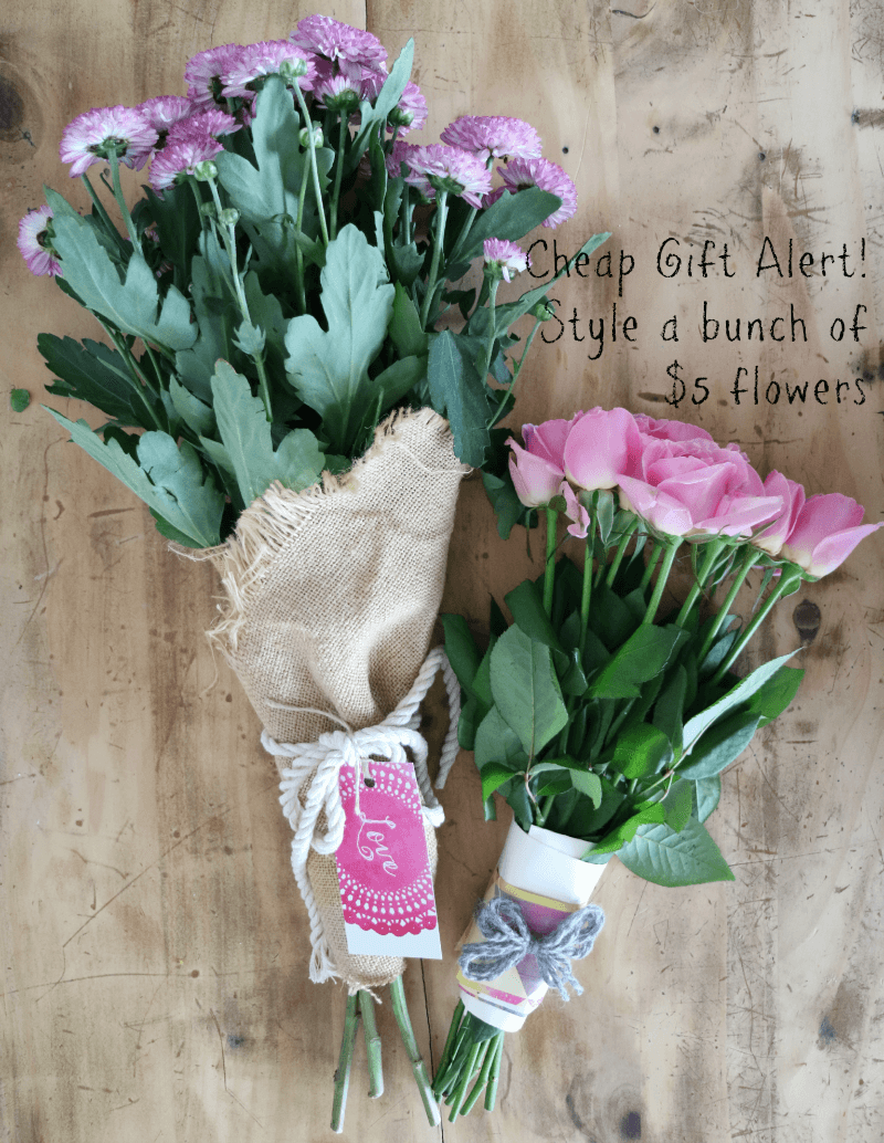 Cheap gift alert style a bunch of 5 flowers izmirmasajfo