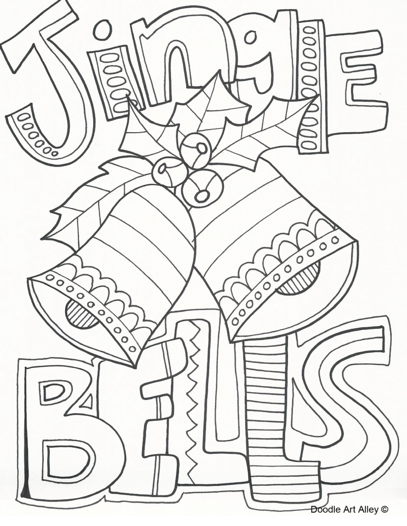 Download and print free christmas colouring pages for Christmas printables coloring pages