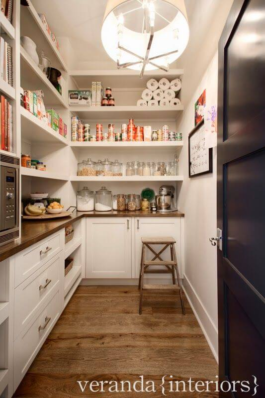 The butler 39 s pantry for Walk in pantry
