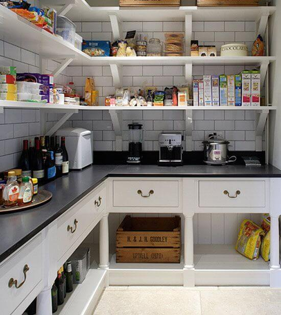 The butler 39 s pantry for Butlers kitchen designs