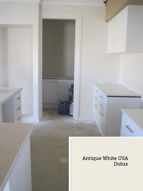 Antique White USA dulux