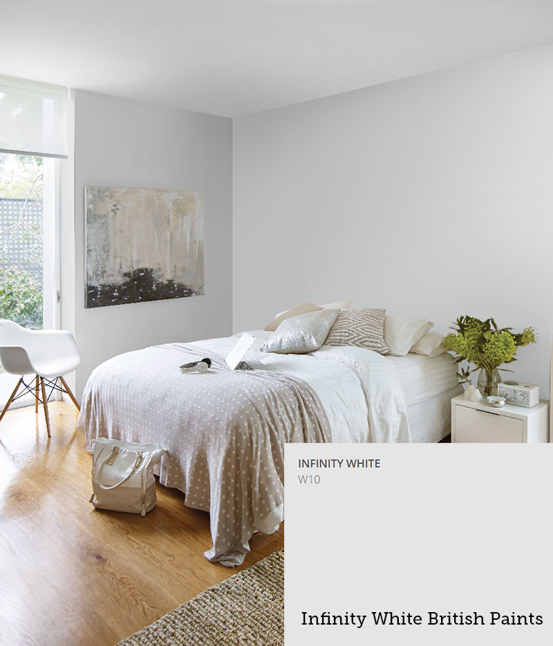 Infinity White British Paints