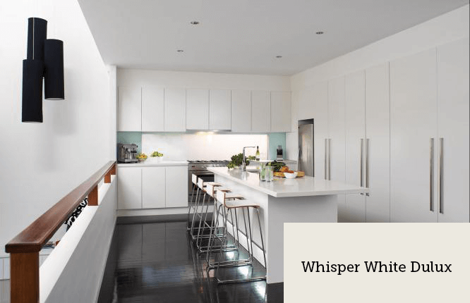 Whisper White Dulux