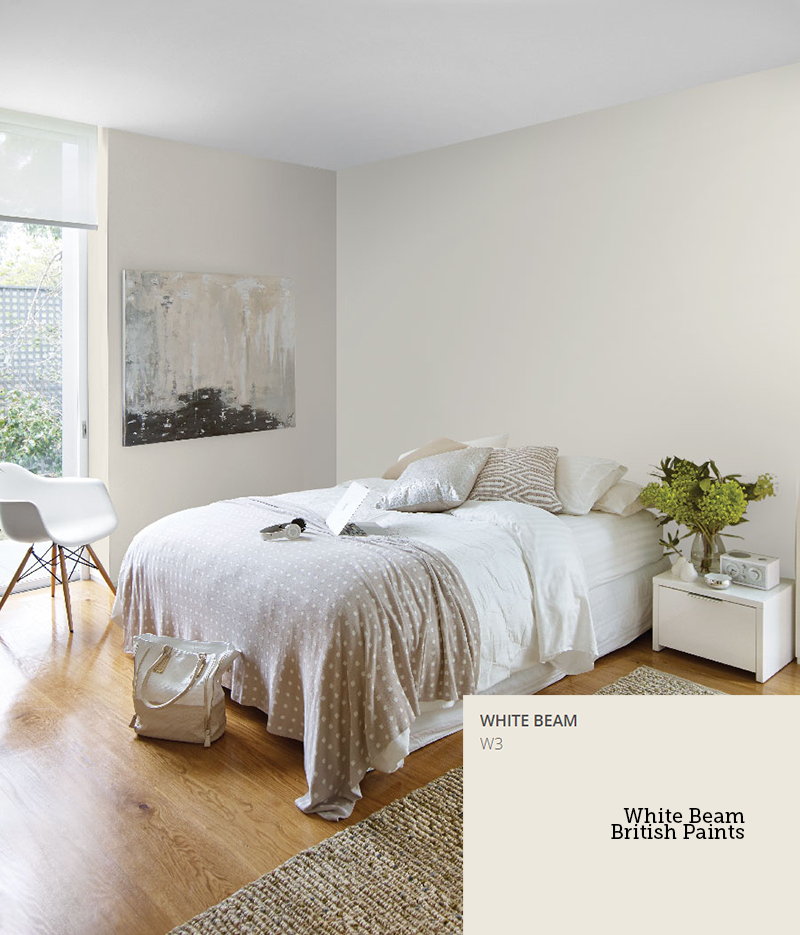 White Beam British Paints