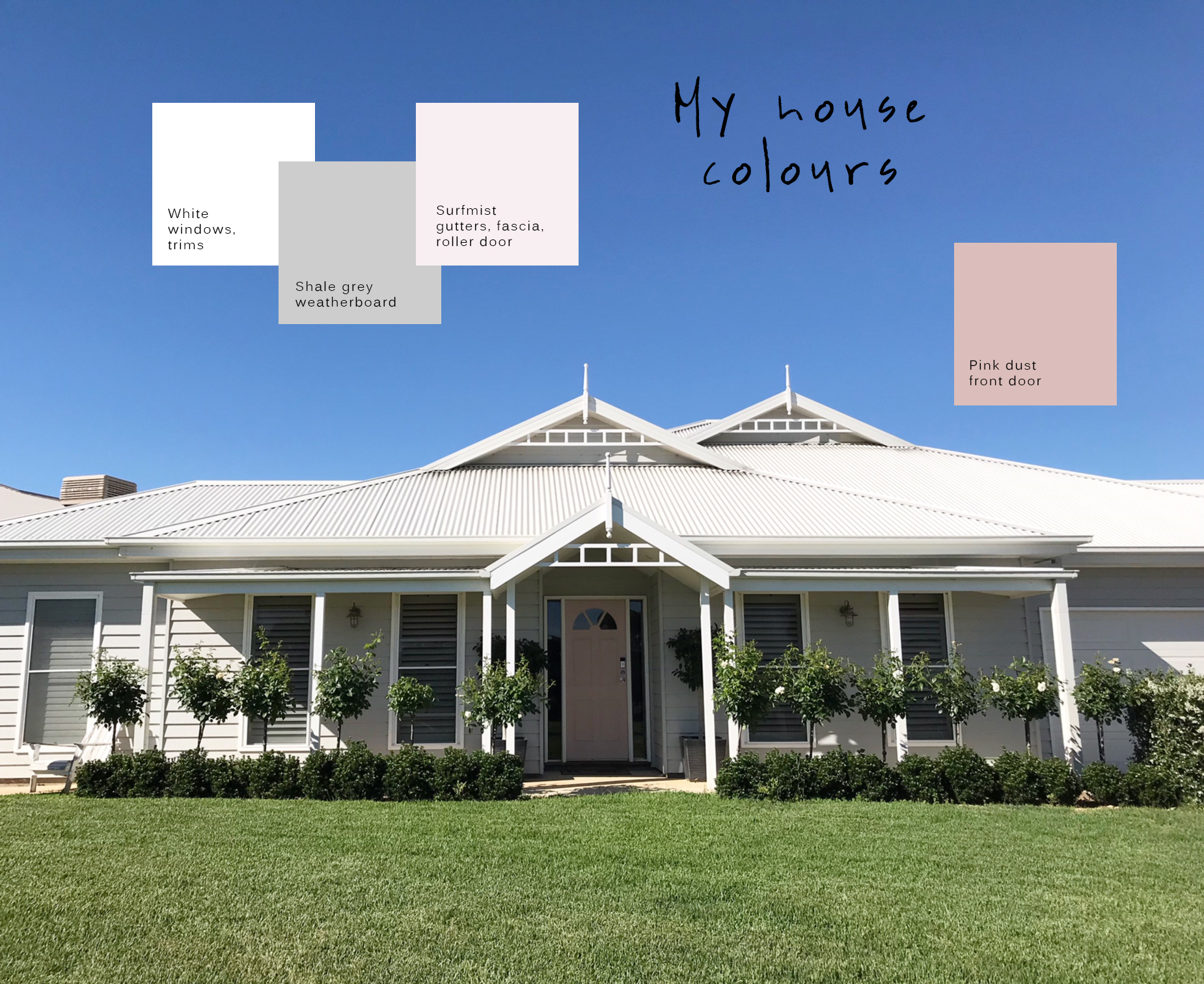 2 Story Home Floor Plans Grey Weatherboard House Colours