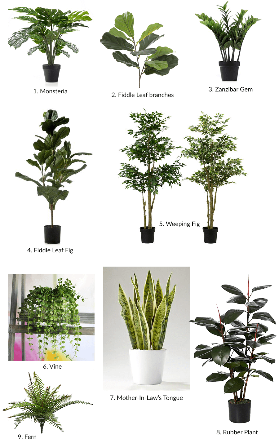 The best artificial plants i could find - Indoor water plants list ...