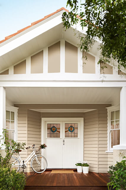 10 weatherboard house colours - Paint colours for exterior walls minimalist ...