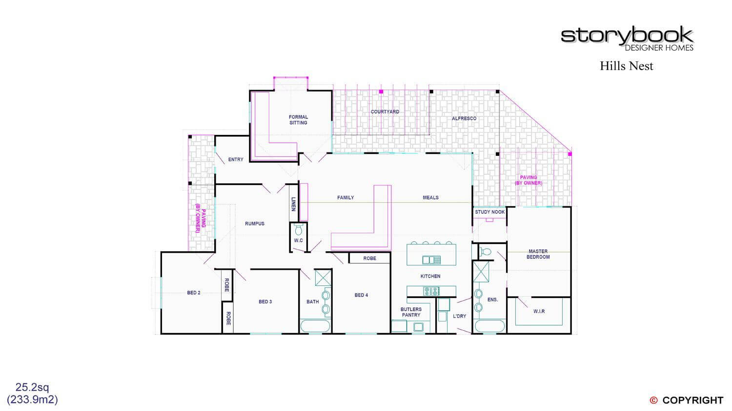 Floor plan friday 4 bedroom with rumpus off kids 39 rooms for Floor plans com