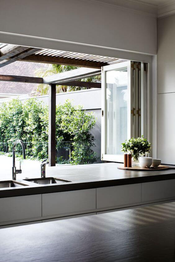 Bi Fold Kitchen Windows