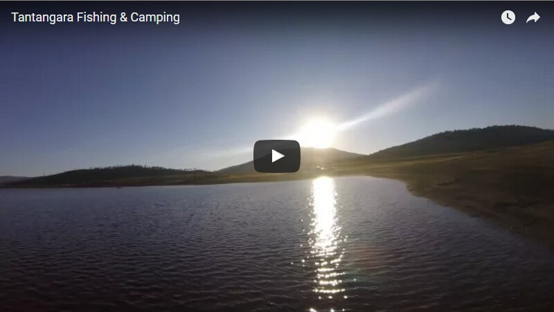 A camping & fishing video