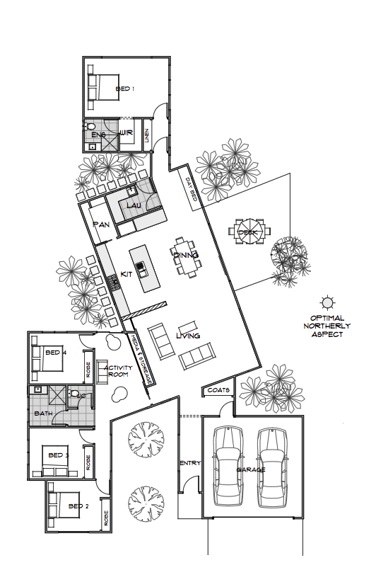 Floor plan friday private practical using pods for Practical home plans