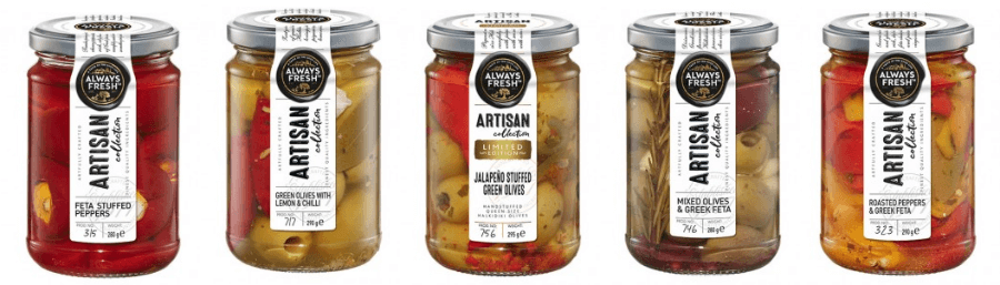 Artisan Range Always Fresh Woolworths