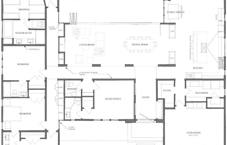 4 bedroom open plan