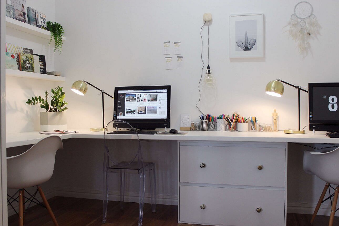 home office blogging