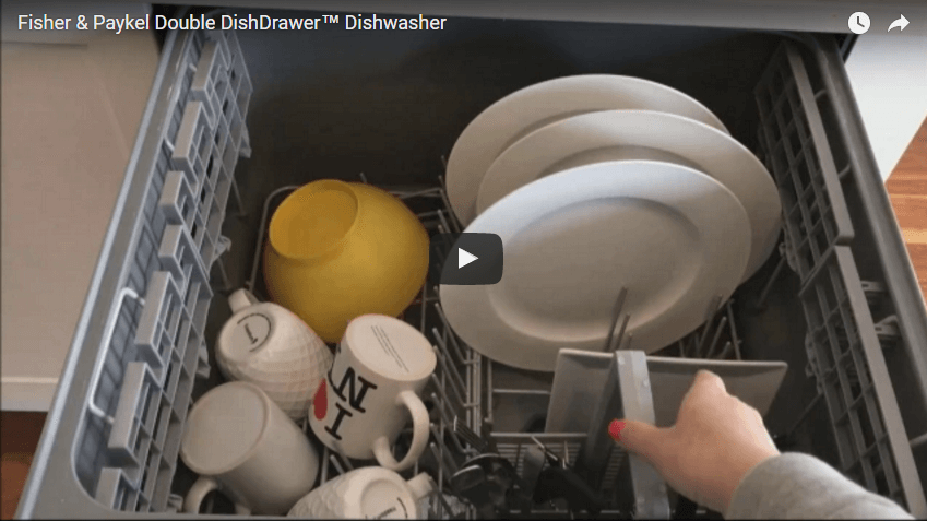 I made a video on the Fisher & Paykel Double DishDrawer™ Dishwasher!