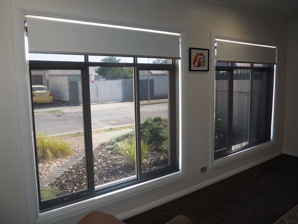 Dual Roller Shades System : For the love of roller double roman blinds