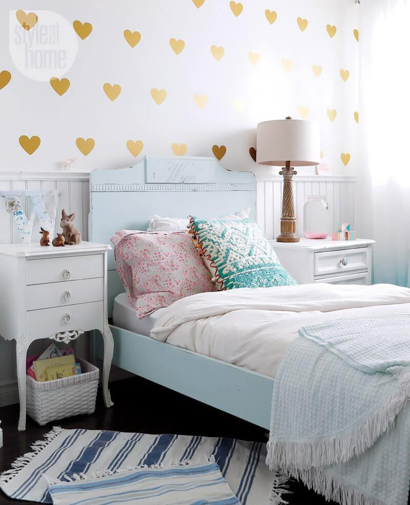 8 tween girls bedroom ideas katrina chambers for Pretty decorations for bedrooms